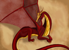 Smaug the magnificient by Kingoftheplatypus