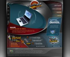 Touch 3D Web by danielrothier