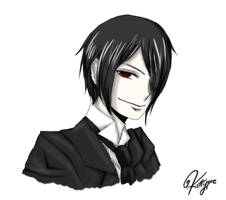 Sebastian Michaelis by kittypiekilljoy