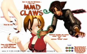.::MMD Download - Claws::. by Amenrenet