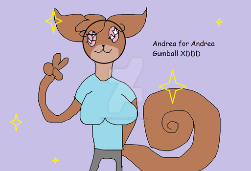 Request by Andrea Gumball!!! by ILoveShitArt