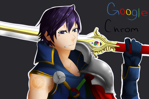 Browser Emblem: Google Chrom by CheshireWolf97