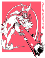Elphelt in Pink by 0takuman
