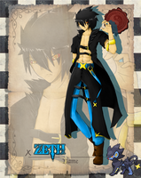 PokePalace - Zeth the Luxray by Lust-4-Art