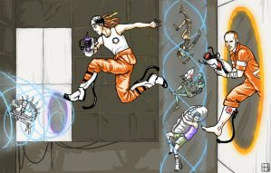 SPG+Portal 2 - Escape by keihi