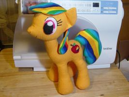 My Pony plushie !!!  :-D by GrimInspirations