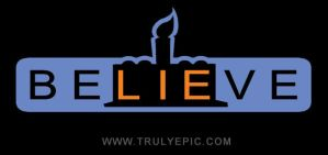 beLIEve logo by TrulyEpic