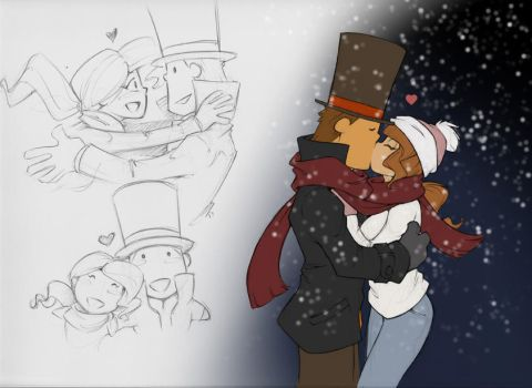 Cold Noses, Warm Hearts by zillabean