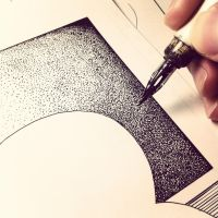 pointillism effect by matchang