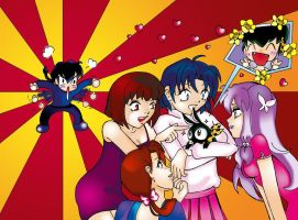 Hurray for Ryoga by RanmaArtists