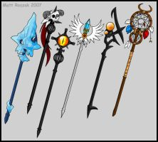 Staves by KupoGames