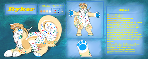 Ryker Ref Sheet Commission 2/2 by Inspire-Wolf