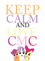 Keep Calm And Love CMC by Mt80
