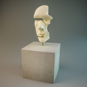 HEAD 3D Vray by nic022