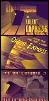 Orient Express Postcards by BombtasticDynamo