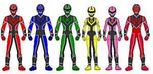 Power Rangers V-Liner by heavenlymythicranger