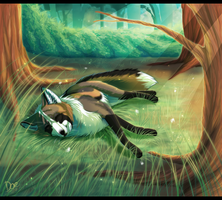 Forrest Nap by Daesiy