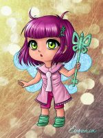 Lockette chibi D: by Evgenia25