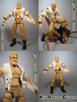Custom Doc Savage Figure by KyleRobinsonCustoms