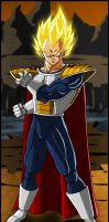 -DBM- Prince Vegeta by DBZwarrior