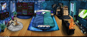 Tech and Jingles Bed Room by chris9801