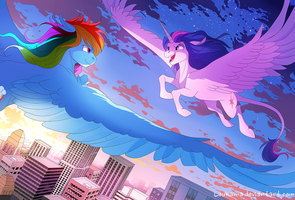 Infinite flight by Loukaina