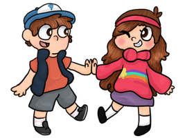 Mystery Twins by Cosmic-Eevee