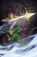 The Legend of Zelda by Petarsaur