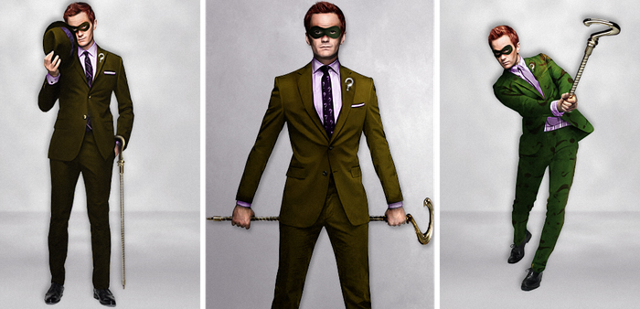 Neil Patrick Harris is The Riddler by Ciro1984