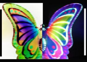 Electric Butterfly by LadyDagger