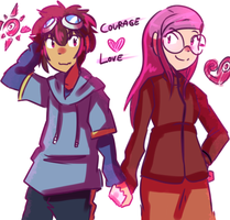 Courage + Love 2.0 by adventure-heart