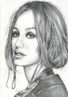 Leighton Meester by LiberianGurrl