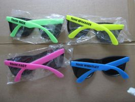 Portal 2 TEAM sunglasses by geggidy