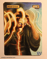 Mind Grind Painted Alter by ReneeYV