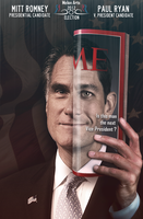 Romney Political Poster by RicanFx