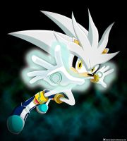Silver The Hedgehog by Marce-Salami