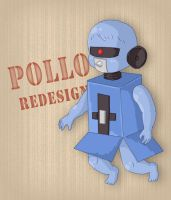 Pollo Redesign by Lilnanny