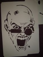 Spider Jerusalem scream by pablito9722