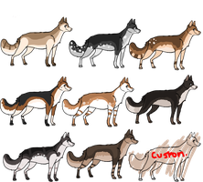 Adoptables~~ c: all 20 pts by SynystersHeart