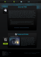 WolfPaw Journal Theme by KovoWolf