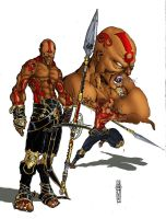 NSHAKA ZULU - color by NKOSI-Publishing