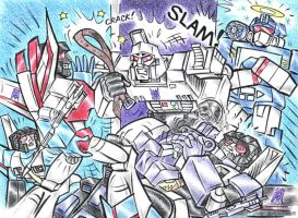 Megatron Gets MAD by blackhellcat