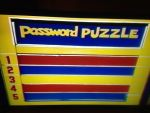 Password Plus Password Puzzle board by dth1971