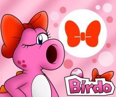 Birdo!! Tuu tu tu twhuuuu!! by SuperLakitu