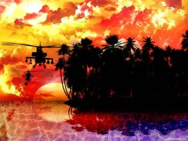 Apocalypse Now-Red Baron Attac by webby85