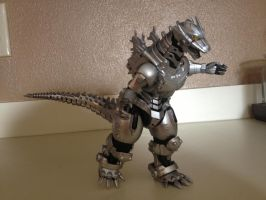 S.H. Monsterarts - Mechagodzilla (Kiryu) by Daizua123