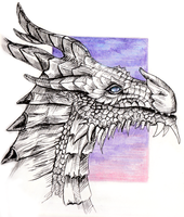 Paarthurnax by Irrisor-Immortalis