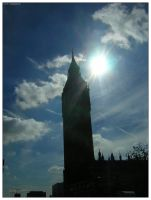 London - Big Ben by trydisegna