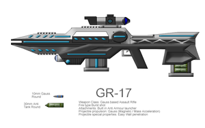 GR-17 Gauss Battle Rifle by CommandoN