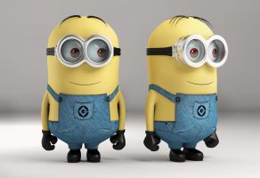 Minion 3d Modelling - WIP by nazmoza
